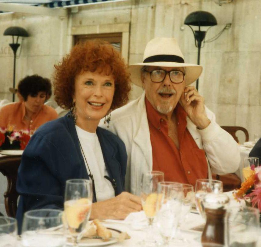 Kathryn & Bob at the Venice Film Festival