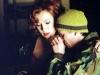Aunt Dot (Jennifer Tilly) comforts J.J. (Jonathan Tucker)