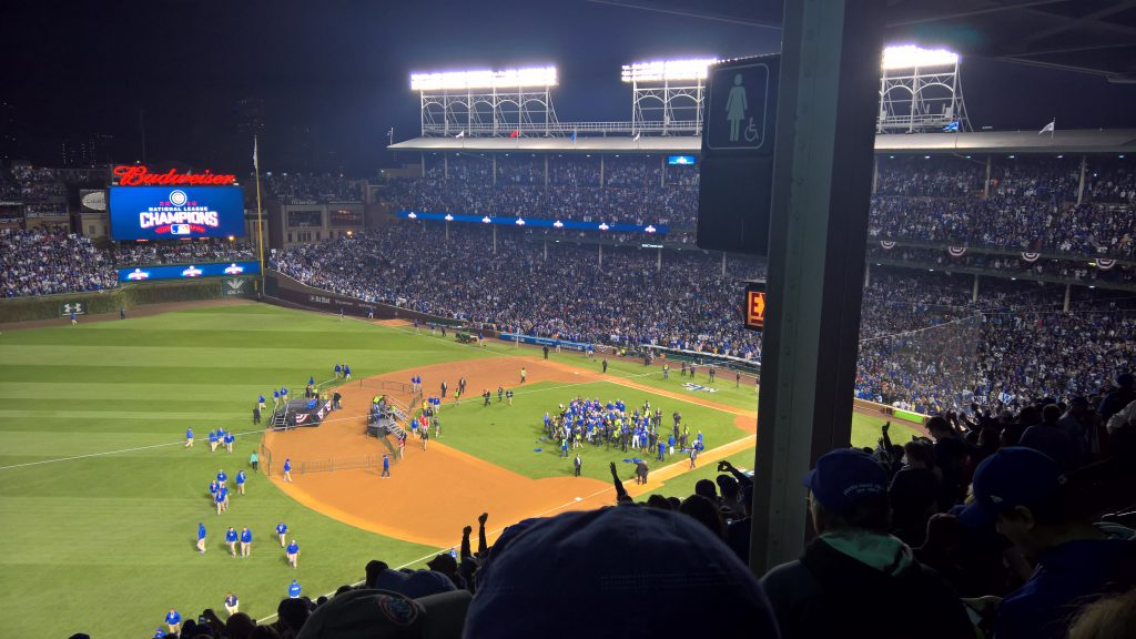 Victory NLCS Game 6