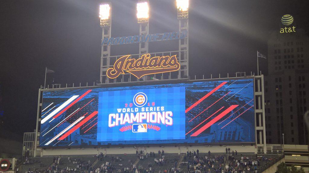 Cleveland Scoreboard